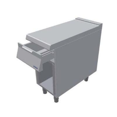 Element neutru cu sertar si cadru deschis, 400x900mm