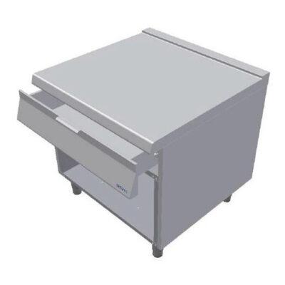 Element neutru cu sertar si cadru deschis, 800x900mm