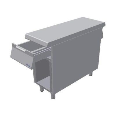 Element neutru, baza cu sertar si cadru deschis, 400x1100mm