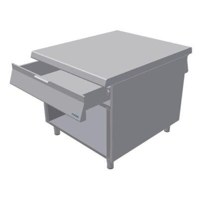 Element neutru, baza cu sertar si cadru deschis, 900x1100mm