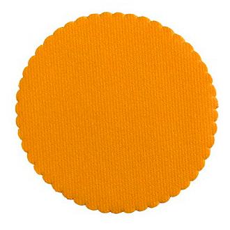 Suport pentru farfurii AIRLAID portocaliu, 115cm