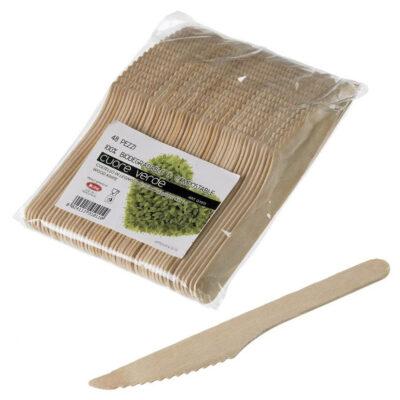 Cutit din lemn de mesteacan, 160mm