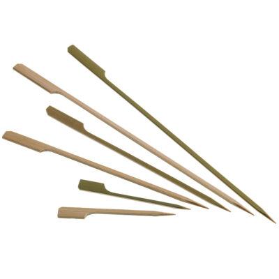Bat din bambus cu paleta, 250mm