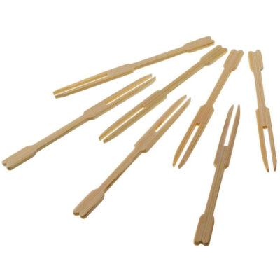 Furculite din bambus, 90mm