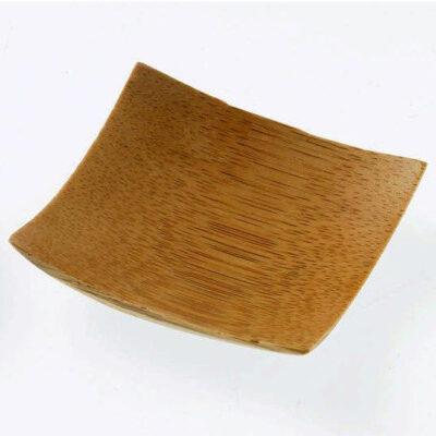 Farfurie patrata din bambus, 60x60mm