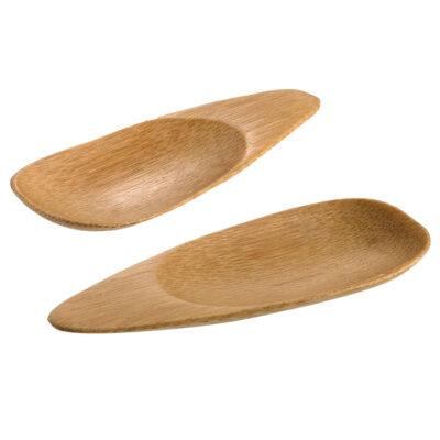 Farfurie ovala din lemn de bambus SUSHI, 100x38mm