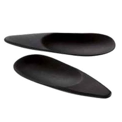 Farfurie ovala din lemn de bambus SUSHI neagra, 100x38mm