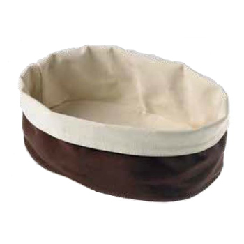 Cos paine din bumbac Fagottino maro, 150x200x70mm