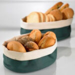 Cos paine din bumbac Fagottino verde, 250x180x90mm 1