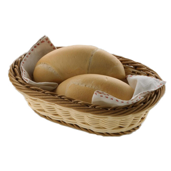 Cos oval pentru paine Prestige, 240x165x60mm
