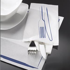 Suport servire DALLAS alb, 450x300mm