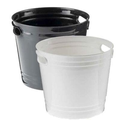 Vas pentru gheata Corona negru, 5 litri
