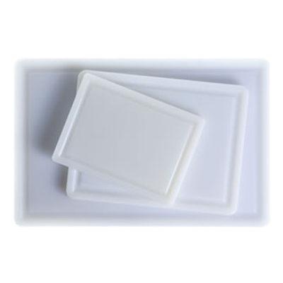 Blat de taiere din polietilena alb, 220x160x10mm