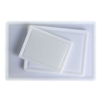 Blat de taiere din polietilena alb, 290x220x10mm