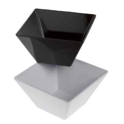 Bol negru DIAMANTE, 240x240x130mm