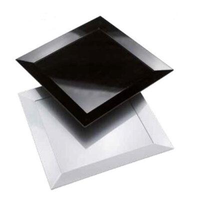Platou alb DIAMANTE, 300x300x25mm