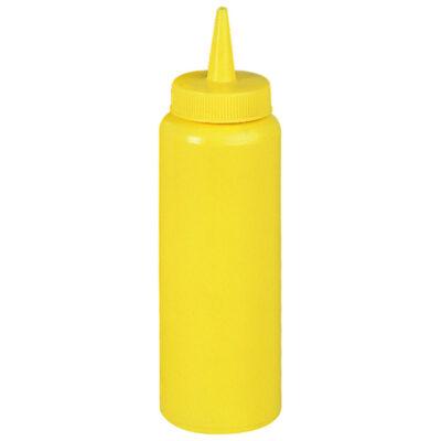 Flacon dozator galben, 0.35L
