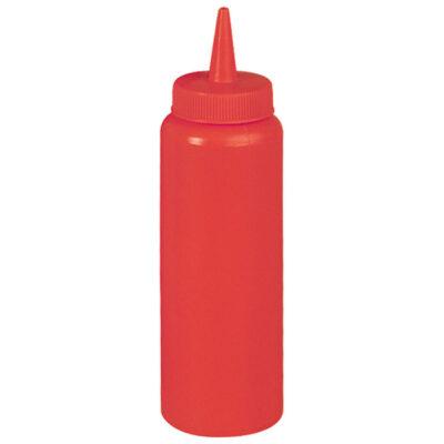 Flacon dozator rosu, 0.7L
