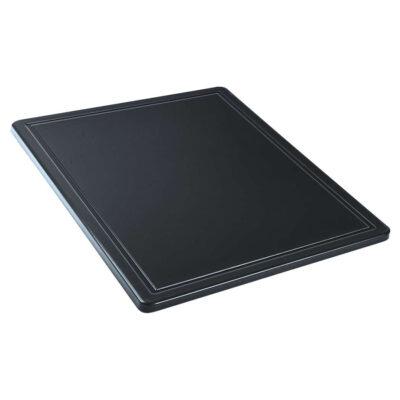 Blat de taiere negru, 325x265mm
