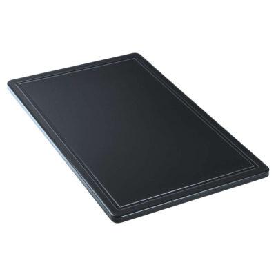 Blat de taiere negru, 550x325mm