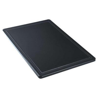 Blat de taiere negru, 600x400mm