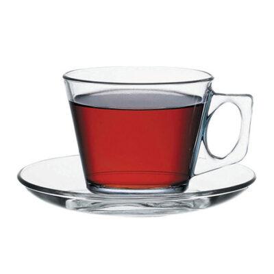 Ceasca pentru cafea 18.5cl cu farfurie VELA