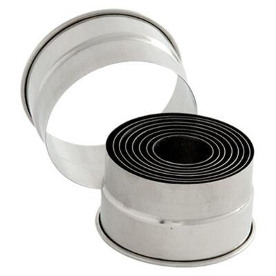 Set forme rotunde pentru patiserie 34-90mm