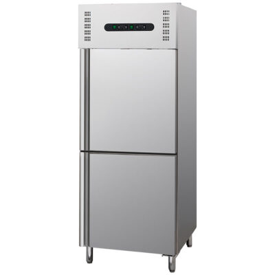 Dulap frigorific/congelare din inox, 300+300 litri