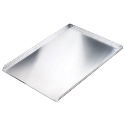 Tava aluminiu cu 3 margini, 600x400mm