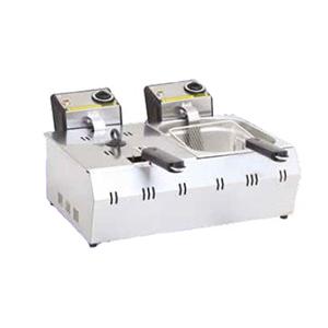 Friteuza electrica 3+3 litri