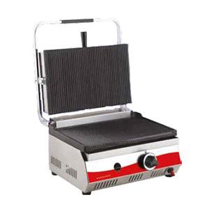 Toaster simplu pe gaz cu mecanism prin apasare pe placi, 450x440mm