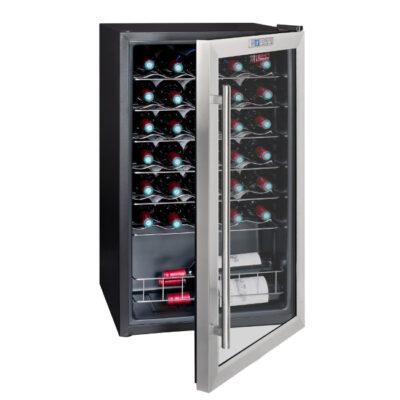 Vitrina frigorifica pentru vin, 33 sticle