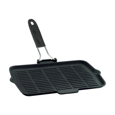 Tigaie tip grill ECO emailata 36x21cm