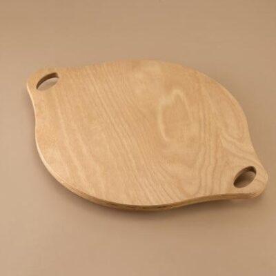 Tava din lemn pentru servire pizza, 360mm