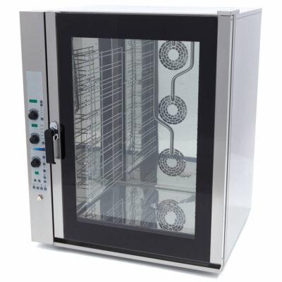 Cuptor electric combi steamer digital, 11 tavi GN1/1