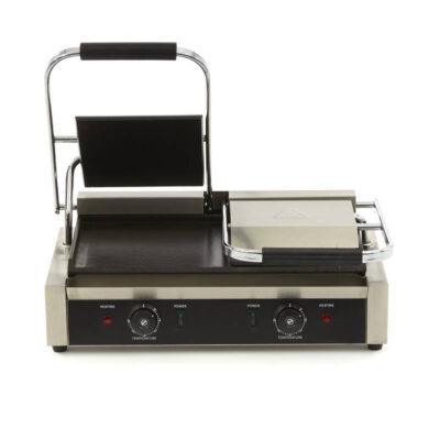 Toaster dublu cu mecanism prin apasare pe placi netede, 570x305mm