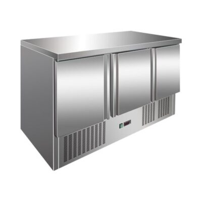 Masa frigorifica cu 3 usi, 1365x700x860mm