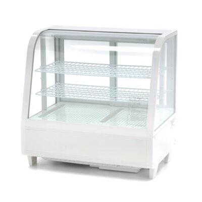 Vitrina frigorifica orizontala, alba, 100 litri