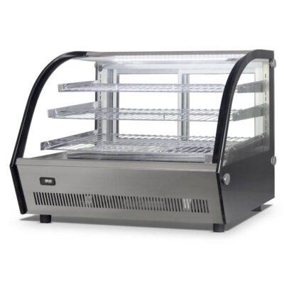 Vitrina calda cu geam culisant, 160 litri