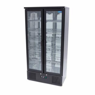 Vitrina frigorifica verticala cu 2 usi batante, 466 litri
