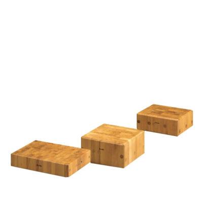 Blat de taiere din lemn cauciucat 70x30x6cm