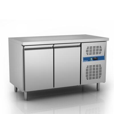 Masa frigorifica pentru patiserie, 2 usi