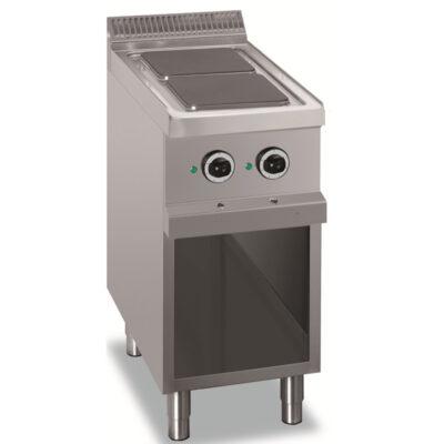 Masina de gatit electrica cu 2 plite patrate, 400x700mm