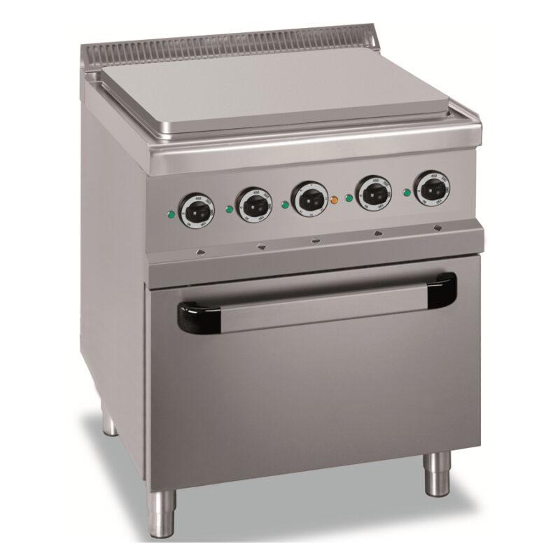 Masina de gatit electrica cu plita si cuptor, 700x700mm