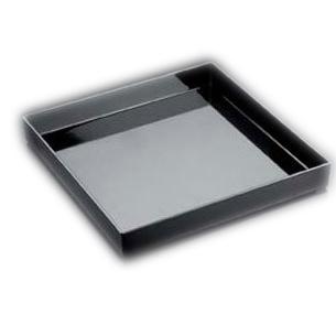 Vas negru 30x30cm