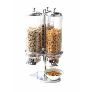 Dispenser cereale, 3x 4 litri