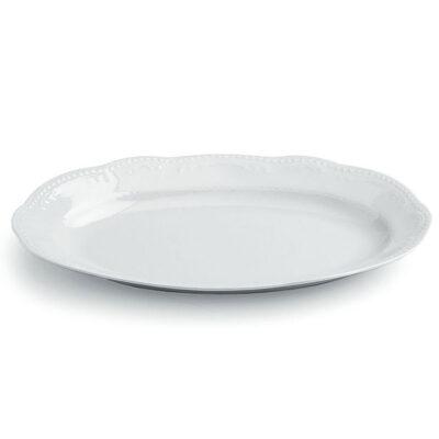 Platou oval 30cm WIEN BIANCO