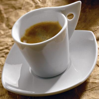 Ceasca cafea cu farfurie 90ml SIDNEY