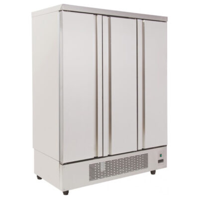 Dulap frigorific inox cu 3 usi, 907 litri