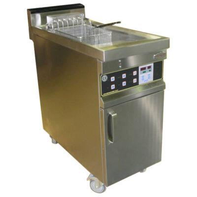 Friteuza electrica cu ulei si apa, 32 litri